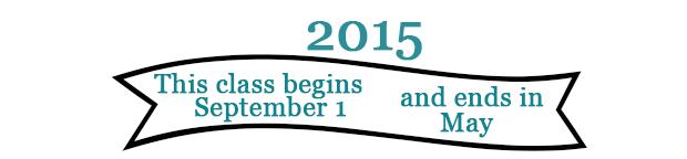 class dates 2015 - older